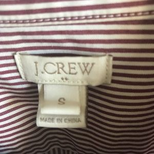 J. Crew Tops - J.Crew Striped Button Down Tunic Shirt